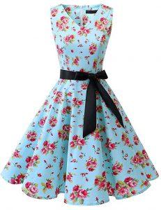 vestido vintage floral