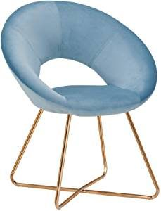 sillon retro azul