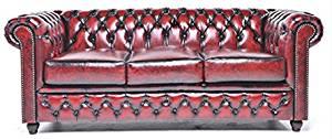 sofa chester rojo (brighton)