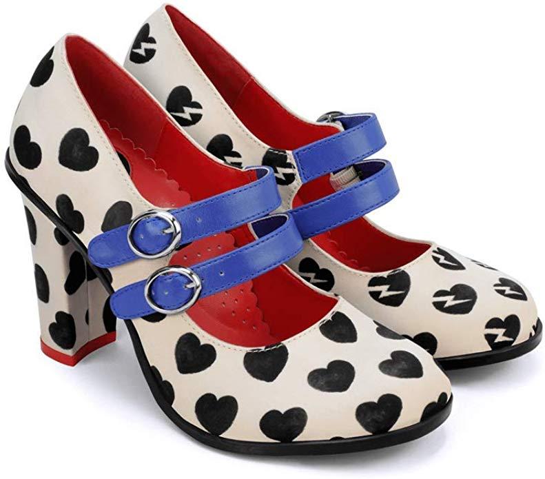 zapatos pin up BARATOS